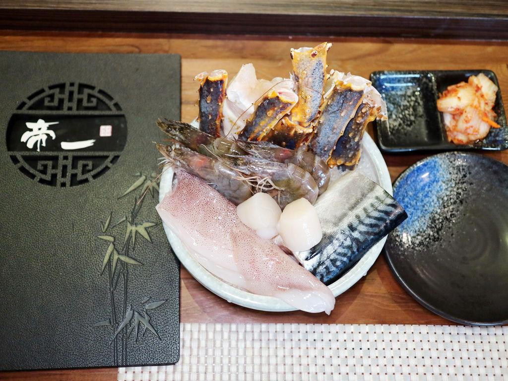 帝一 帝王蟹海鮮/黑毛牛/伊比利豬 頂級燒烤吃到飽