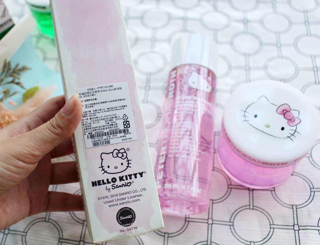 Peter Thomas Roth 彼得羅夫 Hello Kitty玫瑰舒潤活化系列