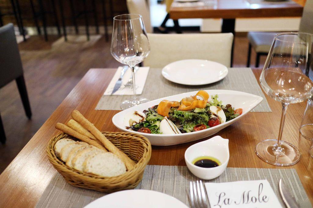 行天宮美食/行天宮聚餐/義大利餐廳推薦/道地義大利餐廳/La mole