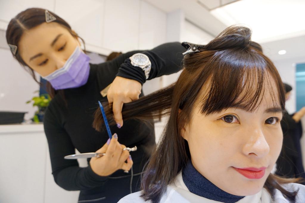 中山站貴婦級髮廊推薦PLUUS旗艦店