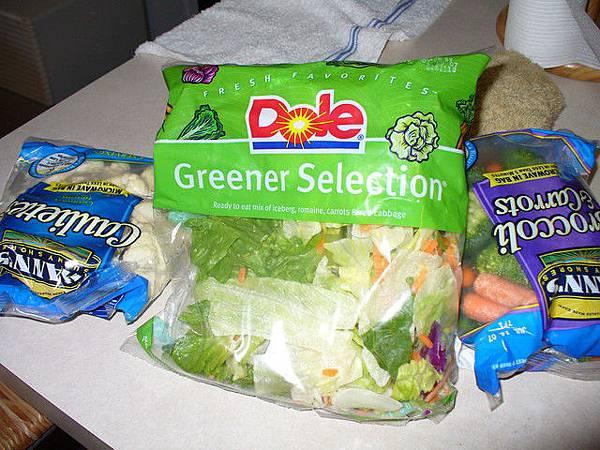 每天吃一包蔬菜