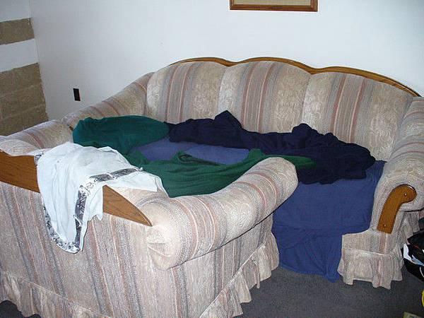 我睡覺的地方