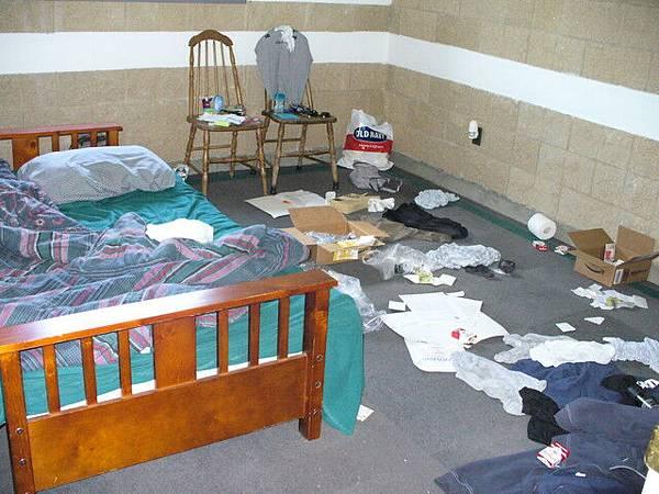 室友的房間
