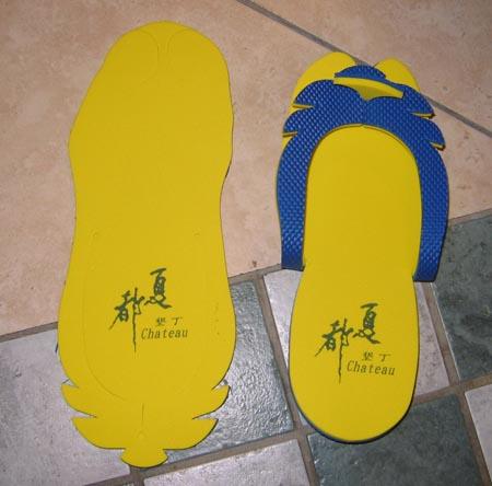 夏都DIY拖鞋