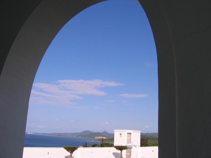 鵝鑾鼻展示室拱窗
