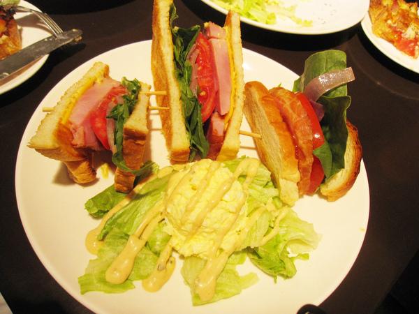 燻雞肉三明治