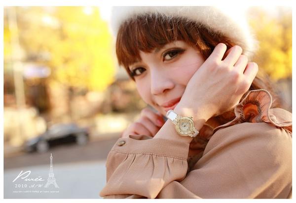 韓國左岸記事特色金屬鑽飾蝴蝶結典雅感滑動水鑽亮面壓紋圓錶-2.jpg