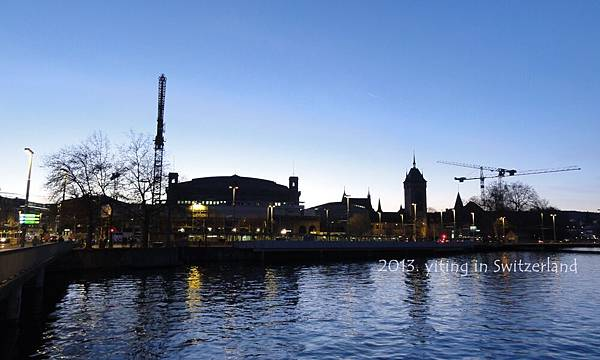 Zurich sunset 0414