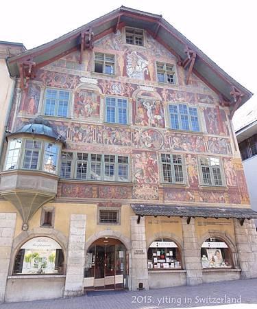0414 Schaffhausen- Haus zum Ritter 01