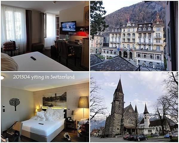 2013 瑞士住宿~ Hotel Interlaken 02