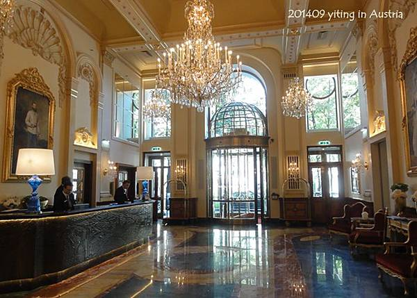 2014 維也納住宿~ HOTEL IMPERIAL, Vienna 02