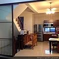 廚房-隔間拉門-咖啡色-懸吊-大里-1.jpg