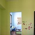 小孩房-隔間鋁框門-咖啡框-落地-太平150422-1