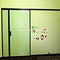 小孩房-隔間鋁框門-咖啡框-落地-太平150422-2
