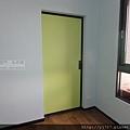 小孩房-隔間鋁框門-咖啡框-落地-太平150422-4