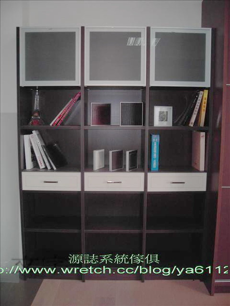 1447-半開放式書櫃1