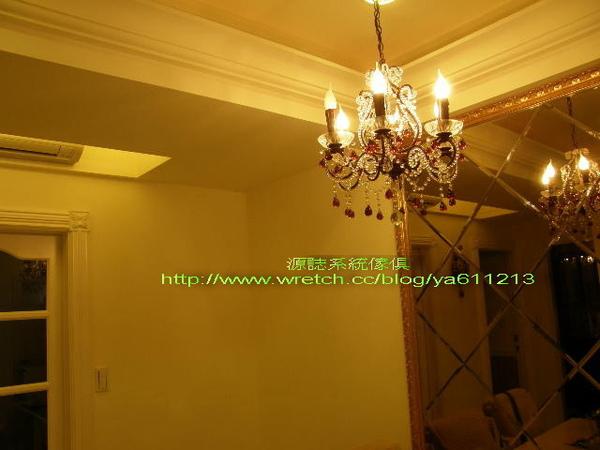 華麗風的吊燈