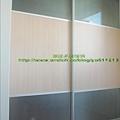 鋁框噴砂玻璃門2.1