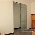 鋁框全噴砂玻璃門0119