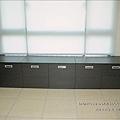 客廳窗下雙開矮櫃0288