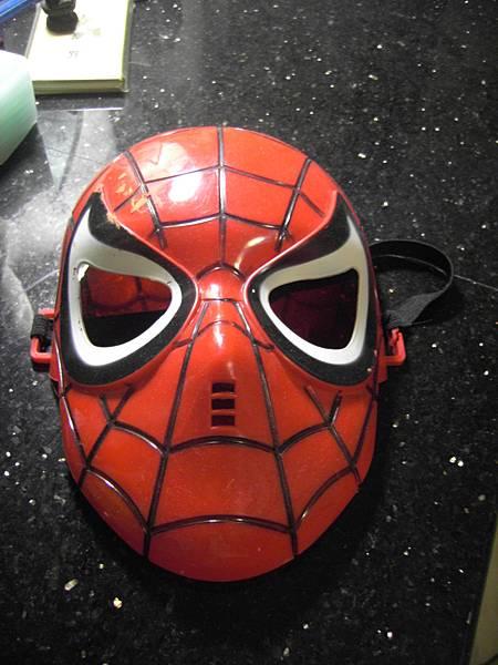 蜘蛛人面具XDDD 頗舊