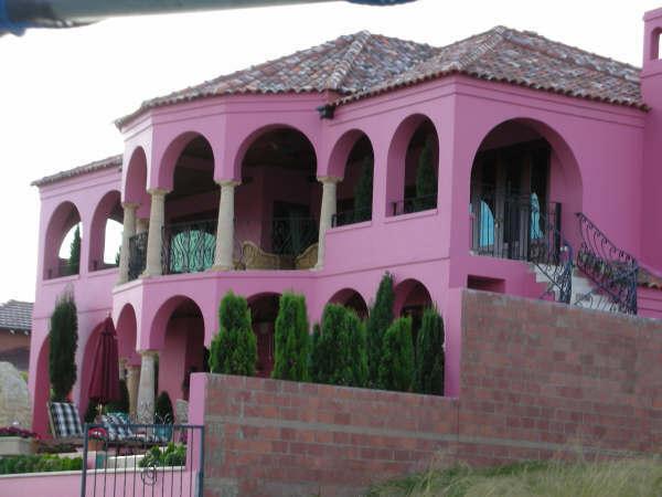 粉紅色的豪宅