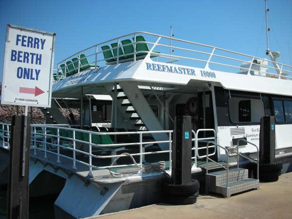 開往對面Mandorah的渡船