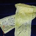 月濛虎眼蕾絲圍巾
