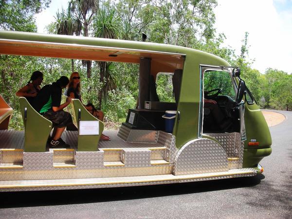 我們搭的遊園列車