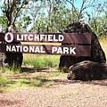 Litchfield國家公園入口