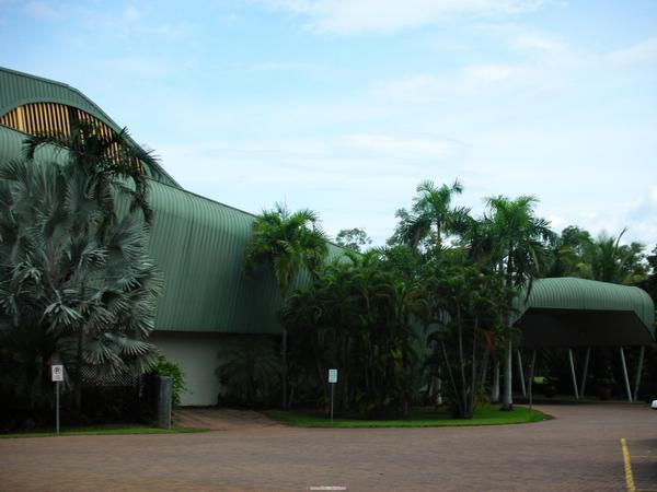 位於Jabaru的鱷魚飯店