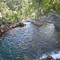 須爬行半小時的密境Tjaetaba瀑布
