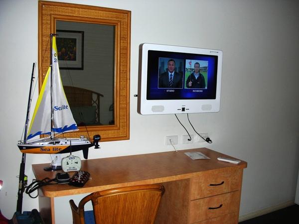 房間的電視