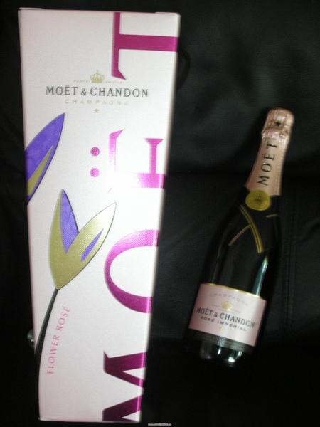 聖誕禮物-粉紅香檳禮盒