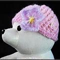 夢幻花朵帽