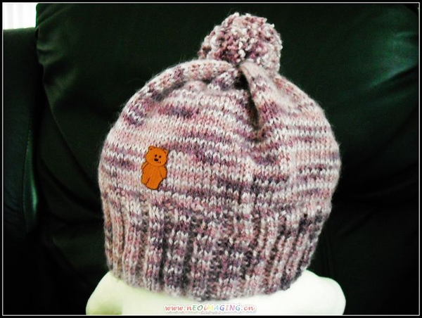 毛球小熊帽2