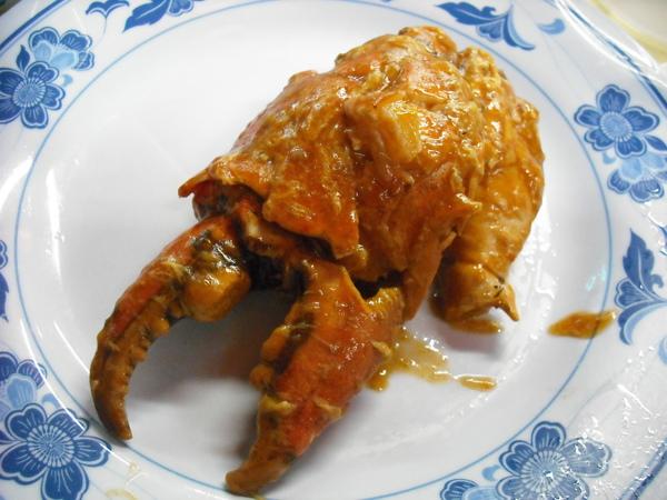 肥美多汁的蟹鉗