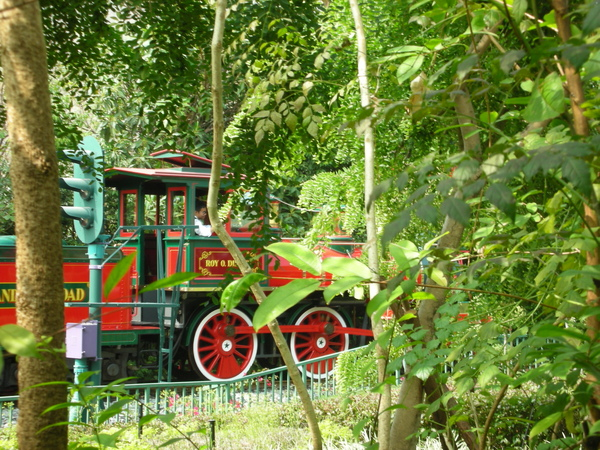 比折凳還收藏隱密的遊園列車