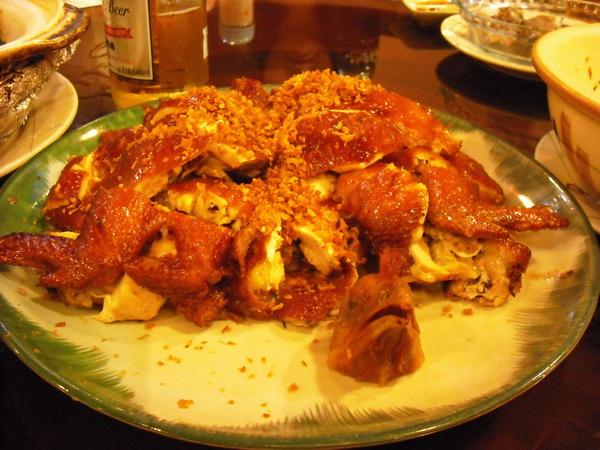 皮脆肉嫩的風沙雞