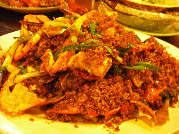 橋底辣蟹 我還是偏愛新加坡的辣椒螃蟹