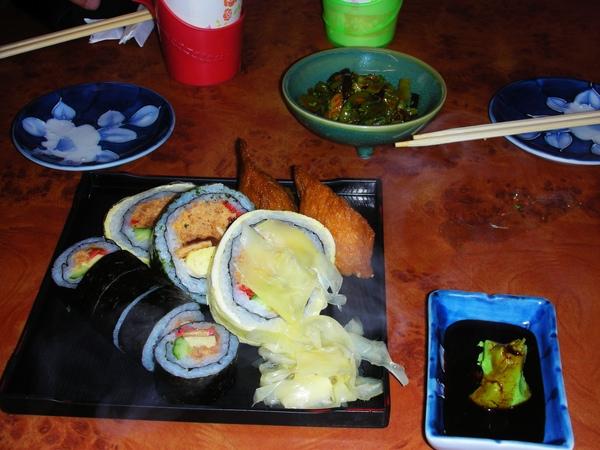 乙味屋壽司拼盤
