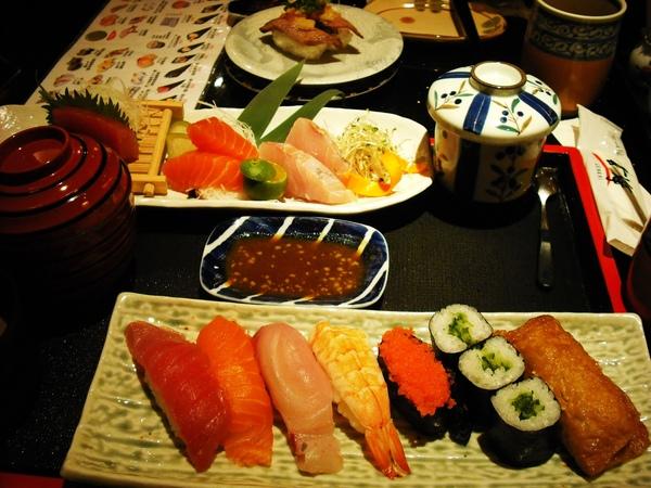 玄海 套餐加壽司