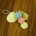 羊毛氈粉色系丸子吊飾