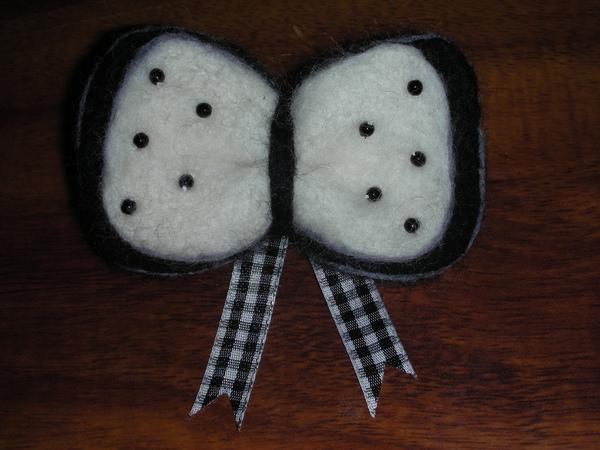 蝴蝶結髮夾材料包