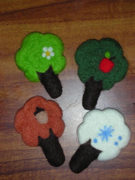 四季小樹材料包