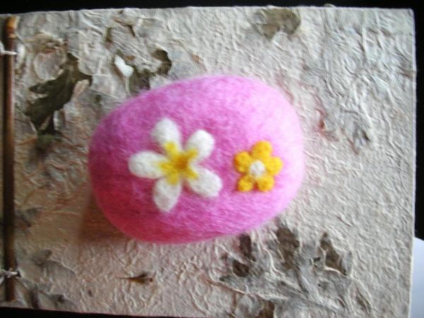 雙花羊毛皂