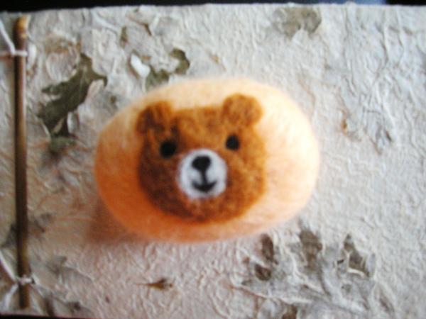 蜜糖熊羊毛皂