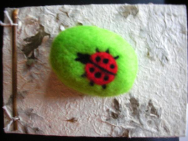 瓢蟲羊毛皂