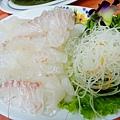 鯛魚生魚片@富基漁港