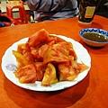 高雄六合夜市番茄切盤